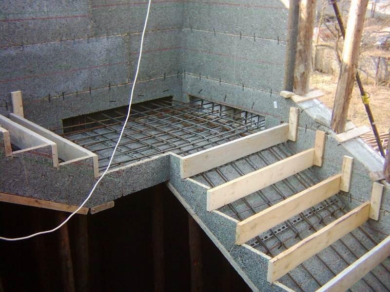 Фото бетонных лестниц своими руками